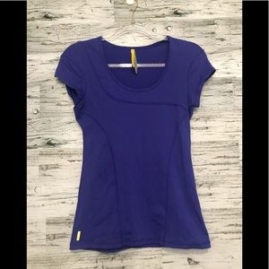 LOLË violet athletic top
